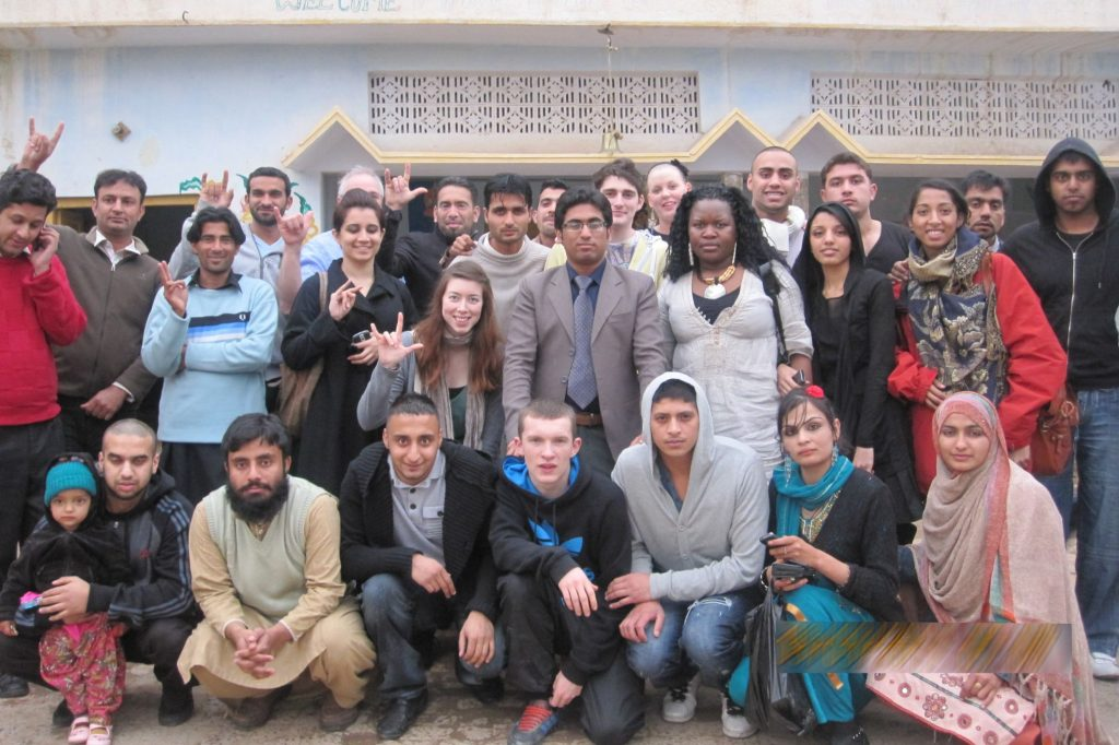 Group Picture of British Youngsters in Bangyal Community School Islamabad-Pakistan