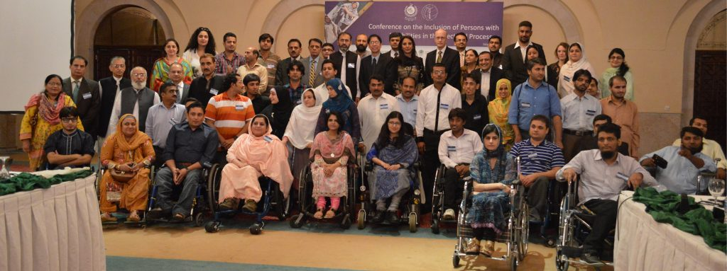 Group Picture Conference on the Inclusion of Persons with Disabilities in the Electoral Processes