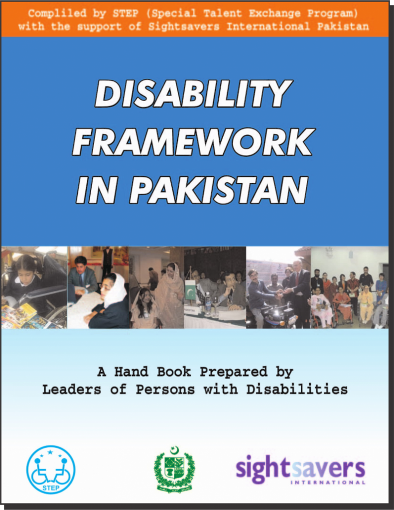 Disability Frame work in Pakistan