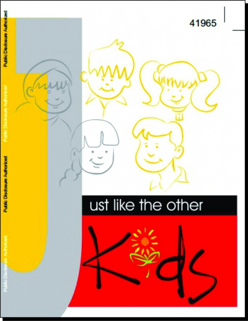 Title Page of Just Like the Other Kids
