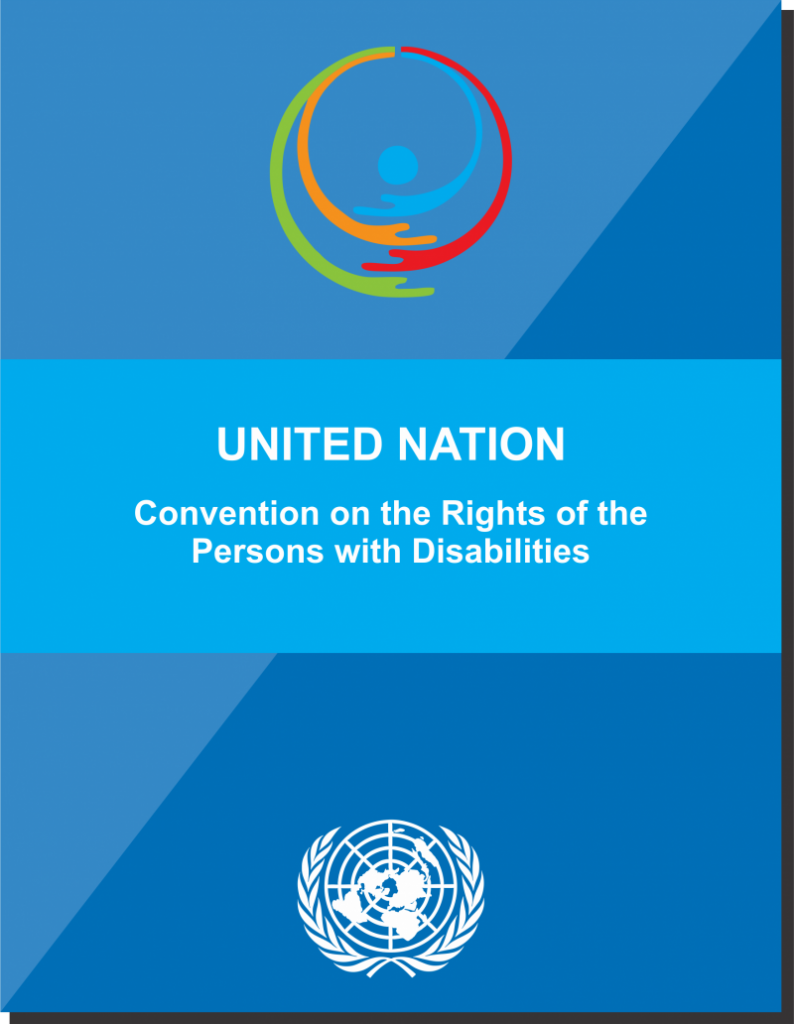 Title Page of UNCRPD-English