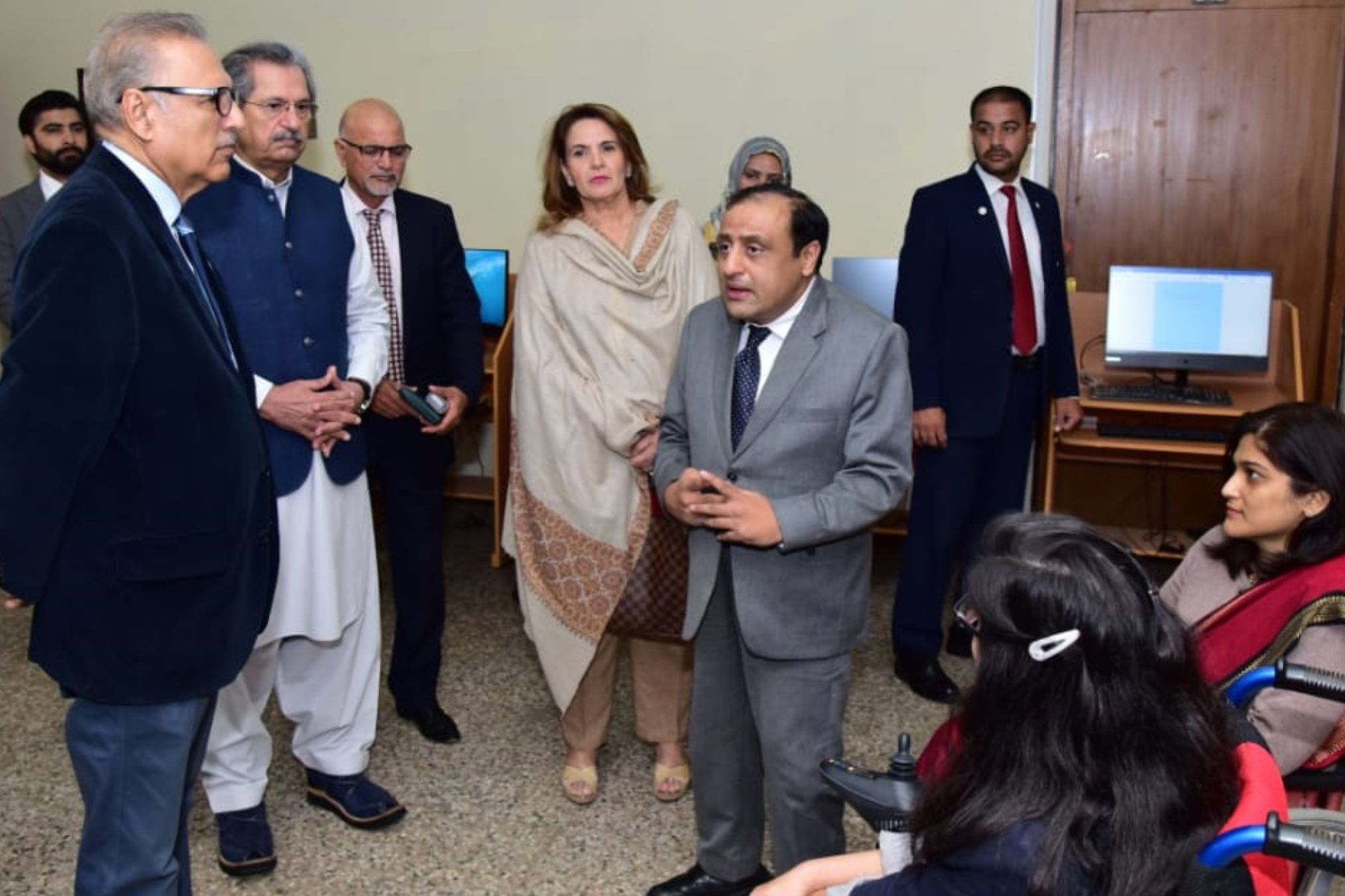 President of Pakistan Inaugurated of Center for Inclusive Development